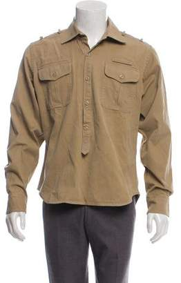 Michael Bastian Pullover Utility Shirt