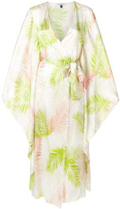 Kew Gilda & Pearl Gardens of London printed robe