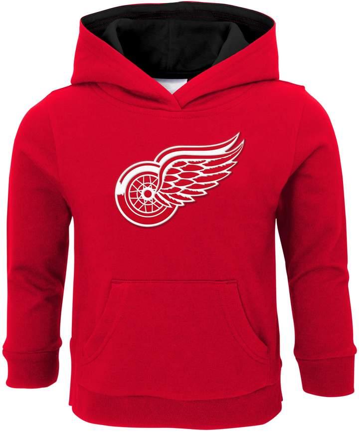 Boys 4-7 Detroit Red Wings Prime Pullover Fleece Hoodie