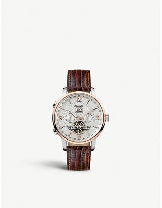 Ingersoll Grafton Automatic brown leather watch
