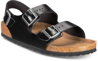 Birkenstock Men's Milano Leather Buckle Sandals