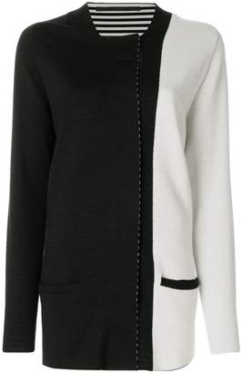 Haider Ackermann colour block cardigan