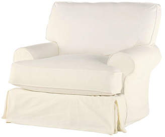 One Kings Lane Lauren Club Chair - Antiqued White