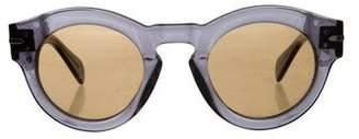 Celine Translucent Round Sunglasses