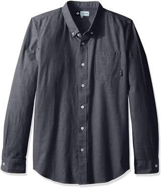 Lrg Men's Zuma Long Sleeve Woven Shirt