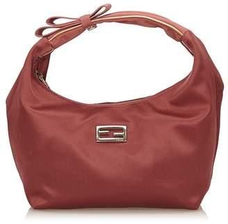 Fendi Vintage Satin Handbag