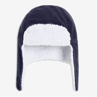 Joe Fresh Kid Boys' Fleece Trapper Hat, Dark Navy (Size S/M)