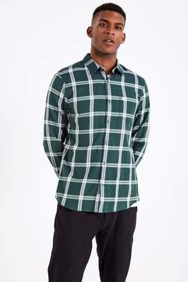 Jack Wills Salcombe Flannel Windowpane Shirt
