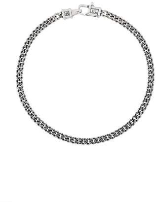 Tom Wood Medium Sterling silver Curb Bracelet