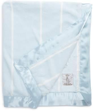 Little Giraffe Pinstripe Luxe Blanket