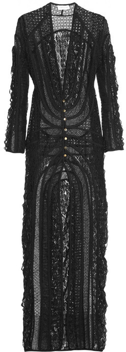 Zimmermann Good Love crocheted lace coverup