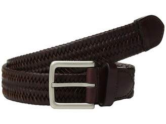 Cole Haan 35 mm. Stretch Braided Leather Belt