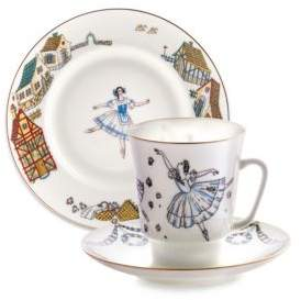 Imperial Porcelain Three-Piece Giselle Ballet