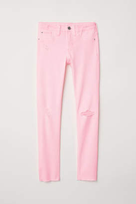 H&M Superstretch Skinny Fit Jeans - Pink