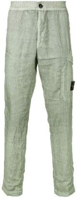 Stone Island straight leg cargo trousers