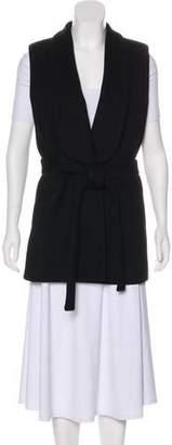 Ann Demeulemeester Wool Shawl-Lapel Vest w/ Tags