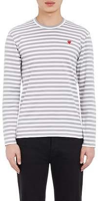 Comme des Garcons Men's Striped Long-Sleeve T-Shirt