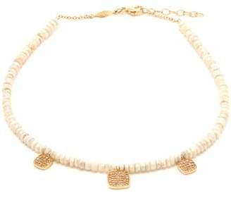 Jacquie Aiche Diamond, Sapphire & Gold Ankle Bracelet - Womens - Grey
