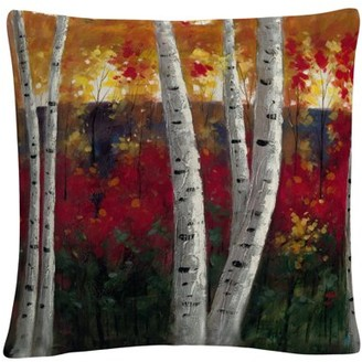 Trademark Art Rio 'Autumn' 16 X 16 Decorative Throw Pillow