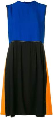 Marni block panel dress