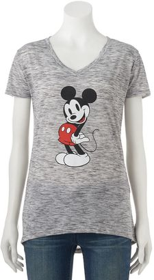 Disney's Mickey Mouse Juniors' Posing Graphic Tee $20 thestylecure.com