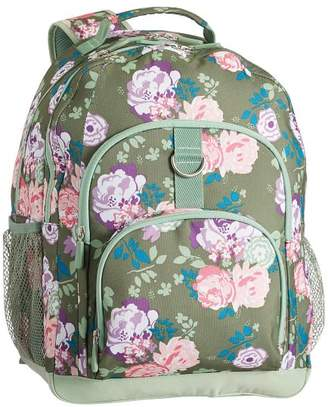 Pottery Barn Teen Gear-Up Olive Garden Party Floral XL Backpack