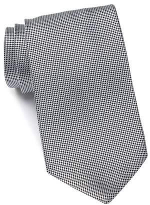 Ermenegildo Zegna Silk Mini Diamond Tie