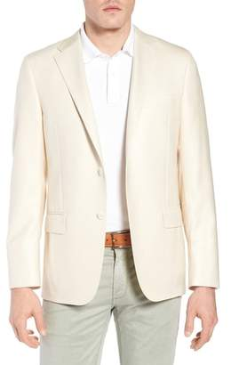 Hickey Freeman Classic B Fit Wool & Silk Blazer
