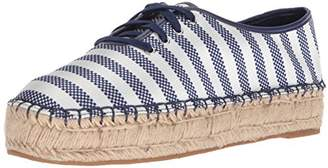 Nine West Women's Gingerbred Fabric Oxford Flat