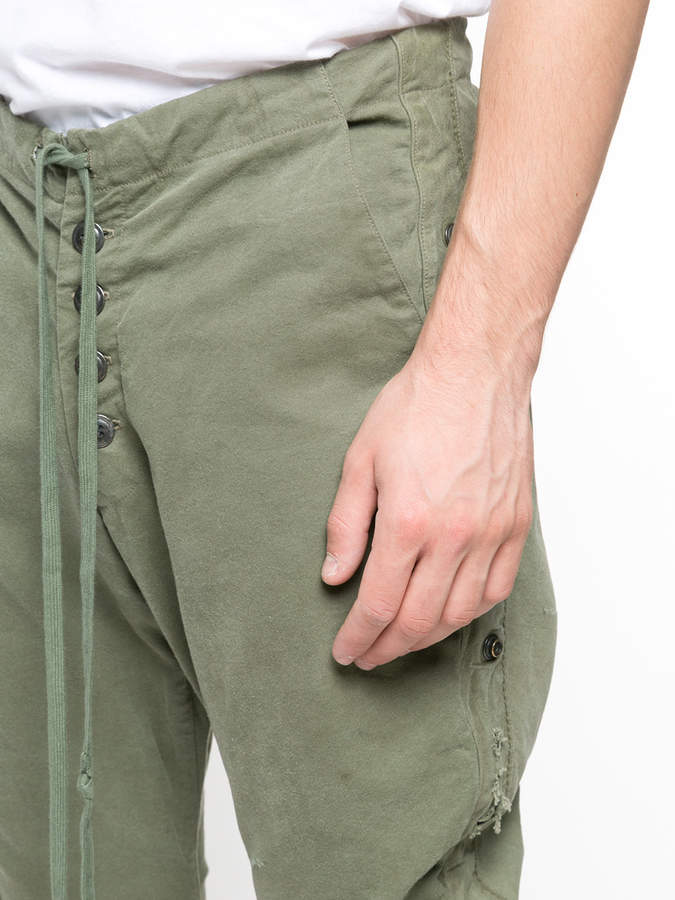 Greg Lauren army tent lounge pants & Greg Lauren army tent lounge pants - ShopStyle Pyjamas