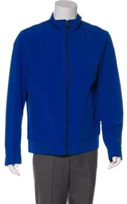 HUGO BOSS Boss by Lightweight Zip-Up Jacket w/ Tags blue Boss by Lightweight Zip-Up Jacket w/ Tags