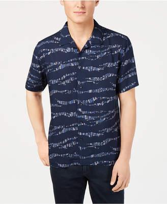 American Rag Men Tiger Stripe Shirt