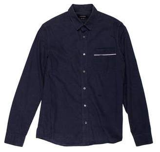 Surface to Air Solid Button Shirt