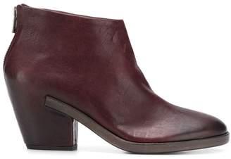 Del Carlo Doga cuban heel boots