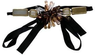 Marni Satin Embellished Belt