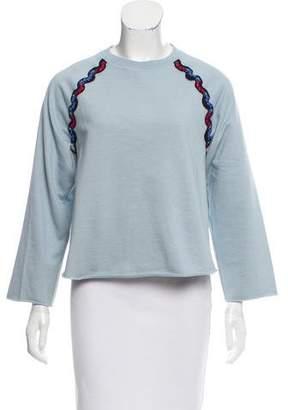 Sonia Rykiel Embroidered Crew-Neck Sweatshirt