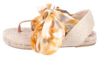 Castaner Leather Espadrille Sandals