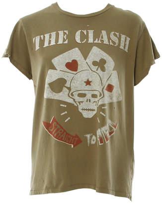 MadeWorn The Clash Straight To Hell Crew Tee