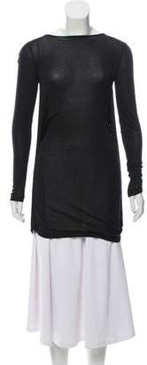 Stella McCartney Silk-Blend Long Sleeve Tunic