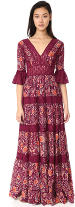 Free People Dulce Maria Maxi Dress $198 thestylecure.com