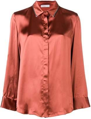 Fabiana Filippi embellished collar shirt