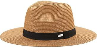 Coal Men's The Chester Paper Straw Wide Brimmed Fedora Sun Hat