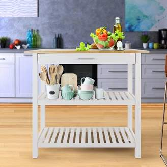 Beachcrest Home Lakeland Kitchen Island