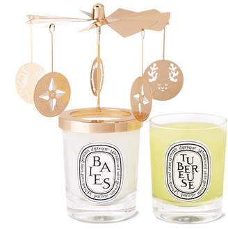 Diptyque Carousel Scented Candle Set, 2 X 70g - Colorless