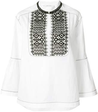 Alberta Ferretti embroidered blouse