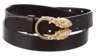 Gucci Leather Embellished Belt