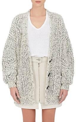 Isabel Marant Women's Favian Wool-Blend Cardigan $820 thestylecure.com