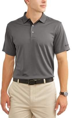 Hogan Ben Men's Performance Short Sleeve Textured Golf Polo Shirt, up to 5XL