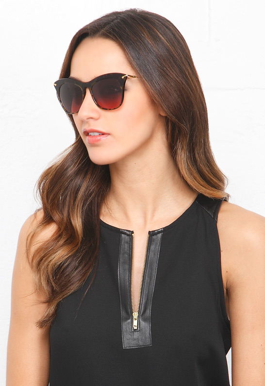 Elizabeth and James Sunglasses Fairfax Sunglasses in Tortoise
