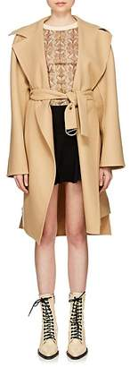 Chloé Women's Double-Faced Wool Melton Coat